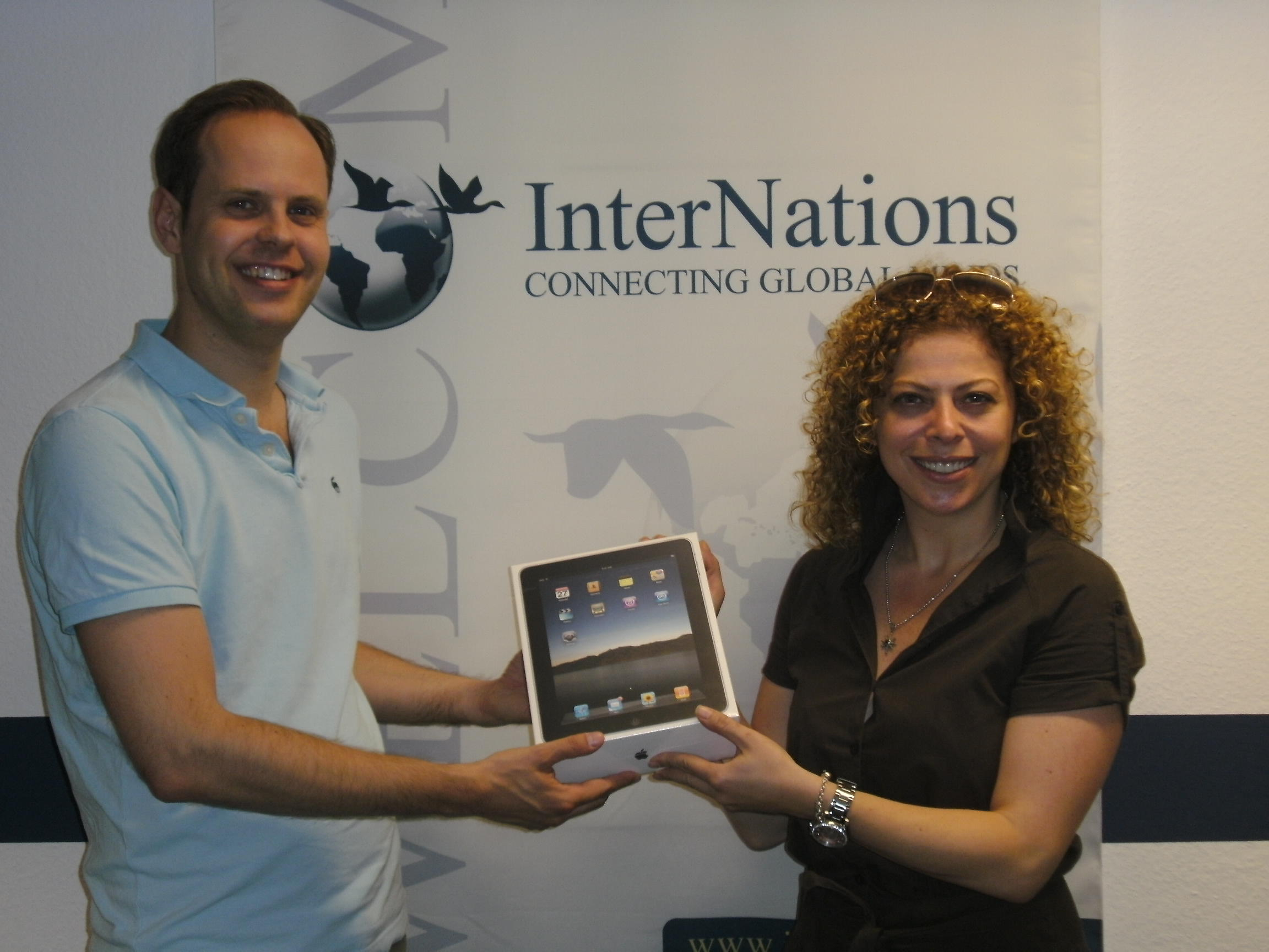 InterNations Expat Survey 2009_Award Recipient_Malte and Hulya