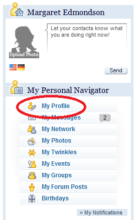 InterNations Expat Community -- My Navigator
