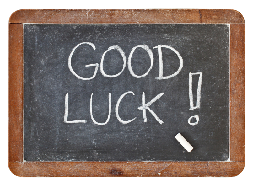 good luck on blackboard