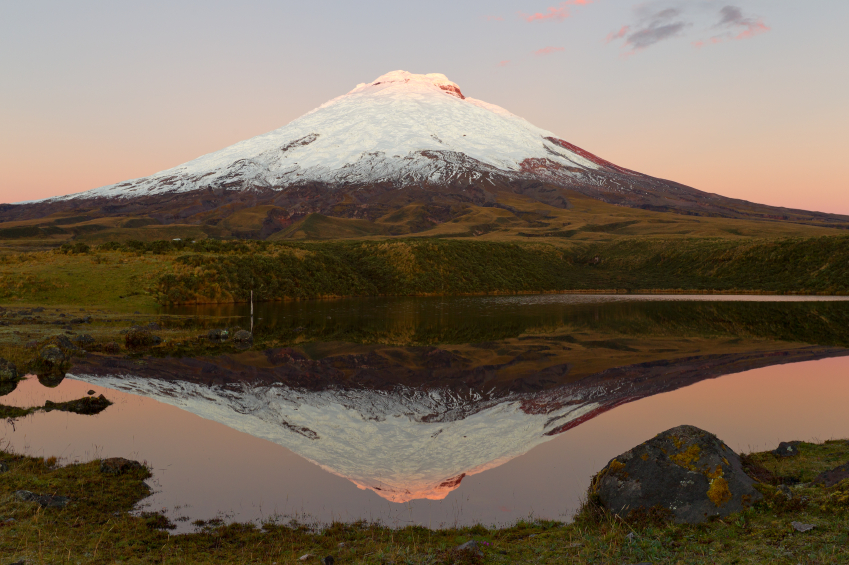 Sunrise at Cotopaxi