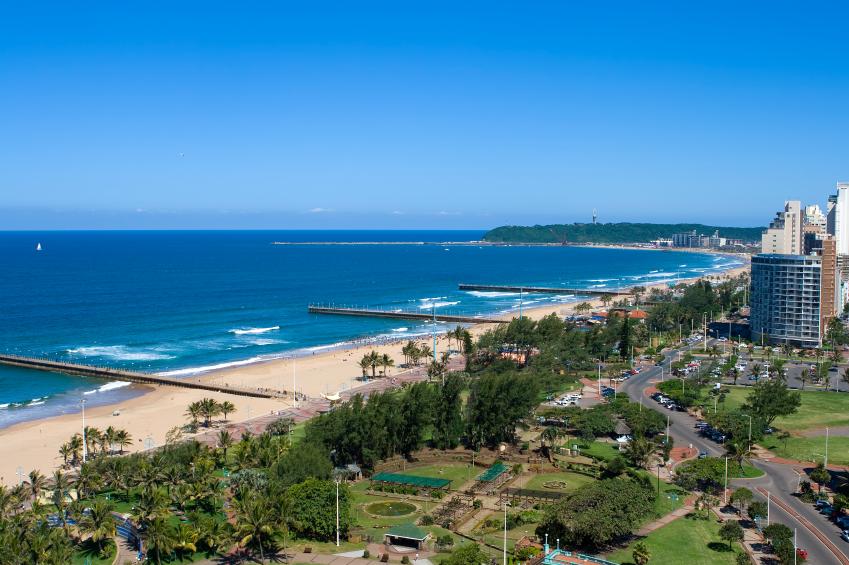 Beachfront scene