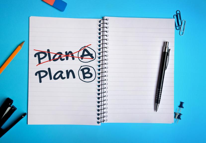 Plan A Plan B word