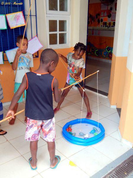4. Rio De Janeiro - Building a garden for a kindergarden for children from the favelas