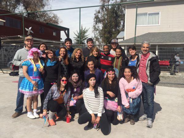 Santiago Children´s Day celebration at Casa Esperanza