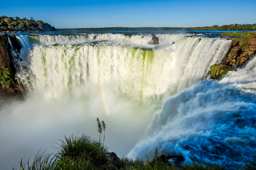 Devil's Throat at Iguazu Falls, Puerto Iguazu, Argentina