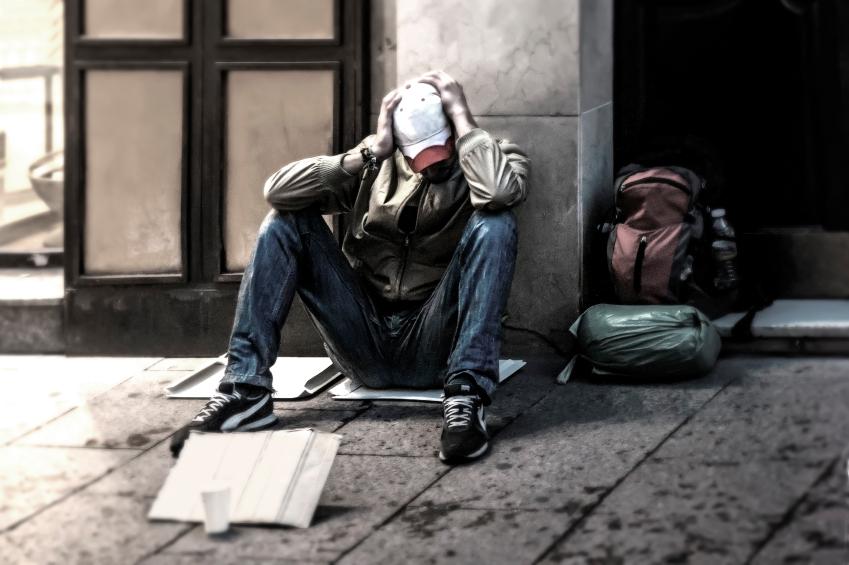 Homeless B&W