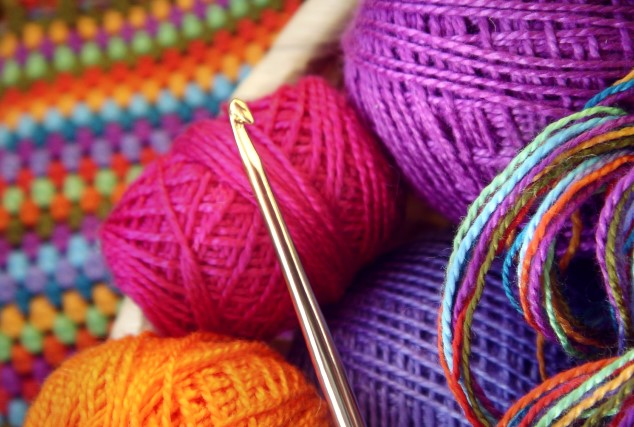 Off Duty: Crafting, Crochet, and Cake